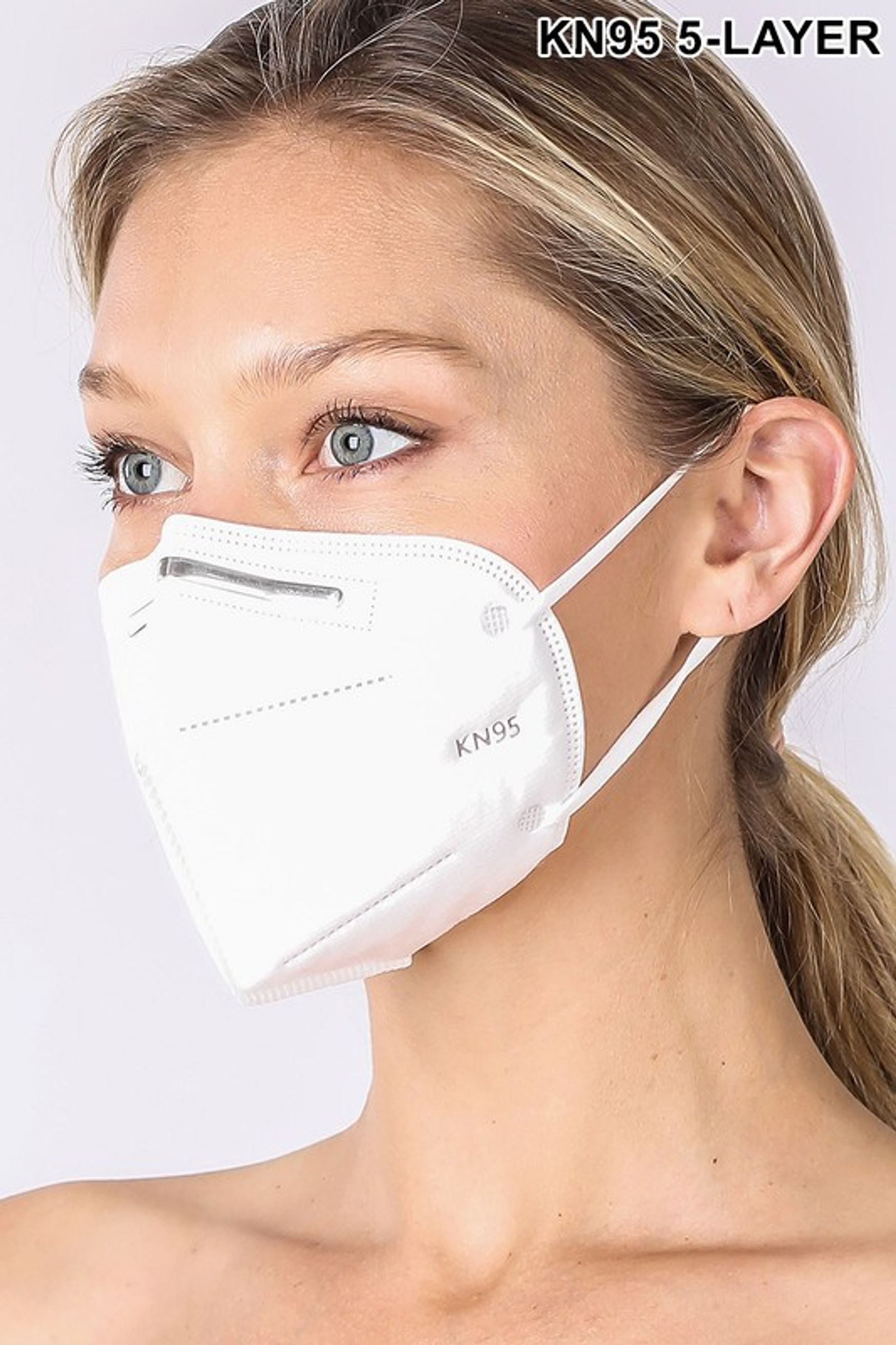 20 Pack - Oral Air Filtration Face Mask - 5 Layers and Individually Wrapped