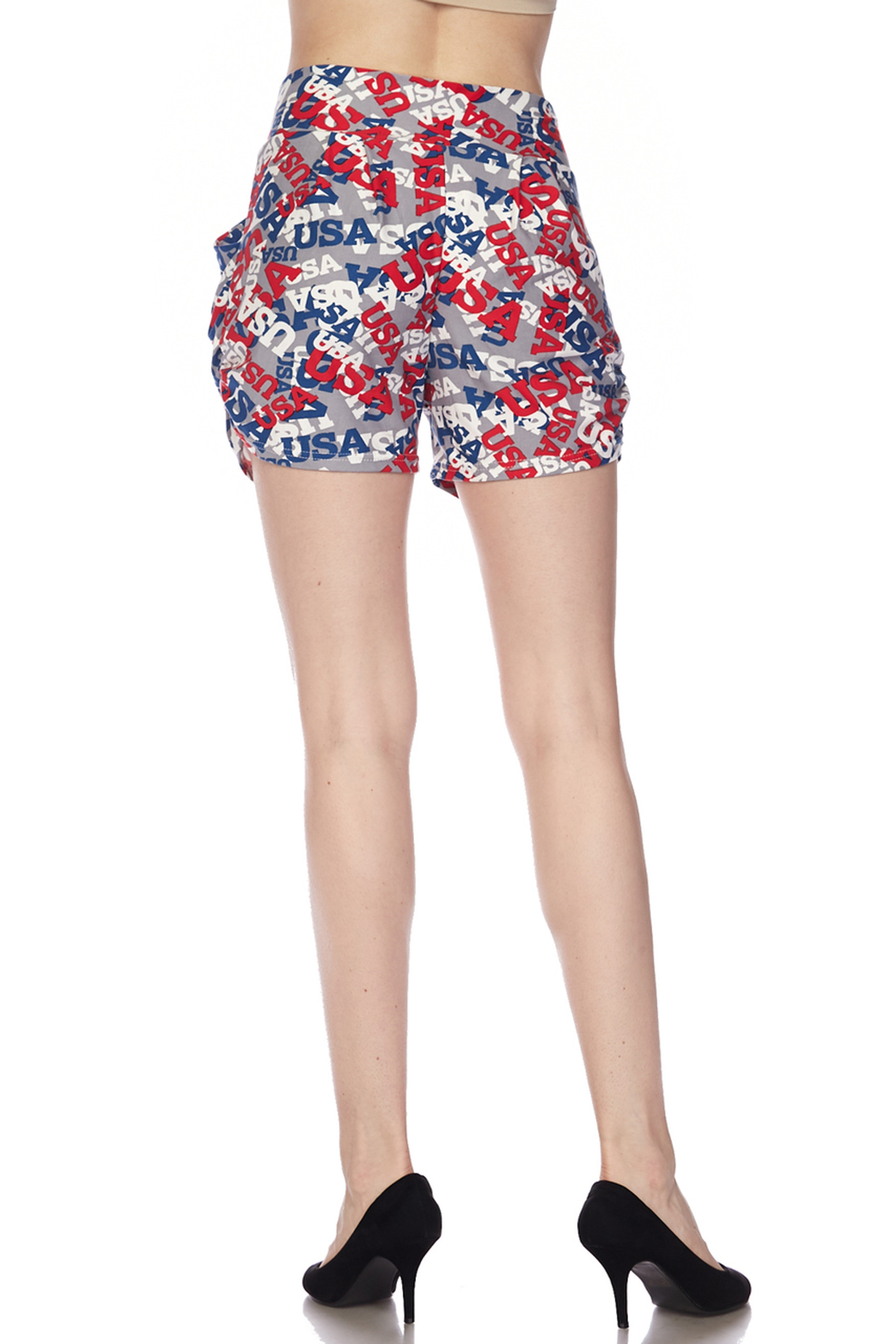 Buttery Soft All Over USA Shorts
