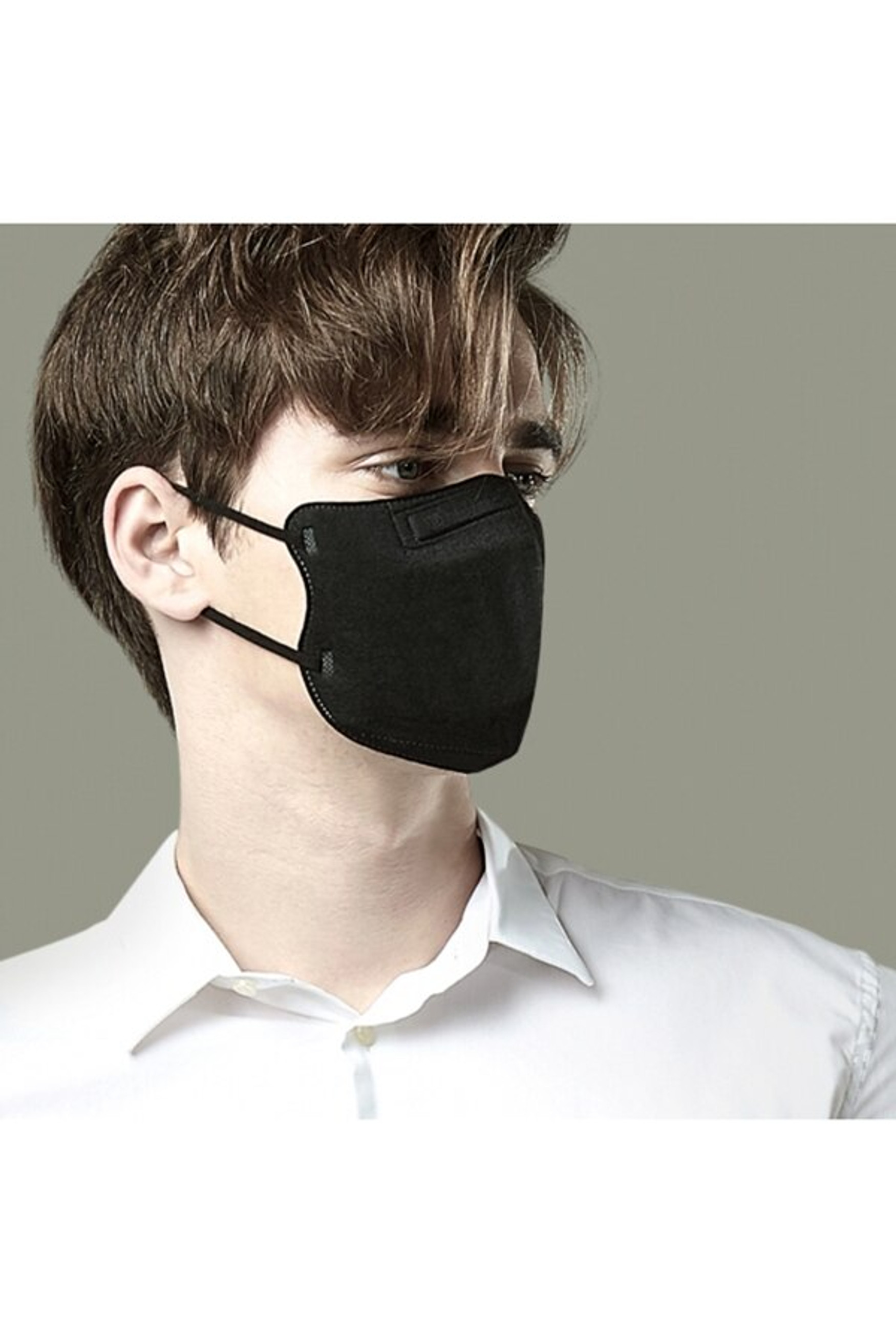 Black Oral Filtration Face Mask - SINGLES - INDIVIDUALLY WRAPPED
