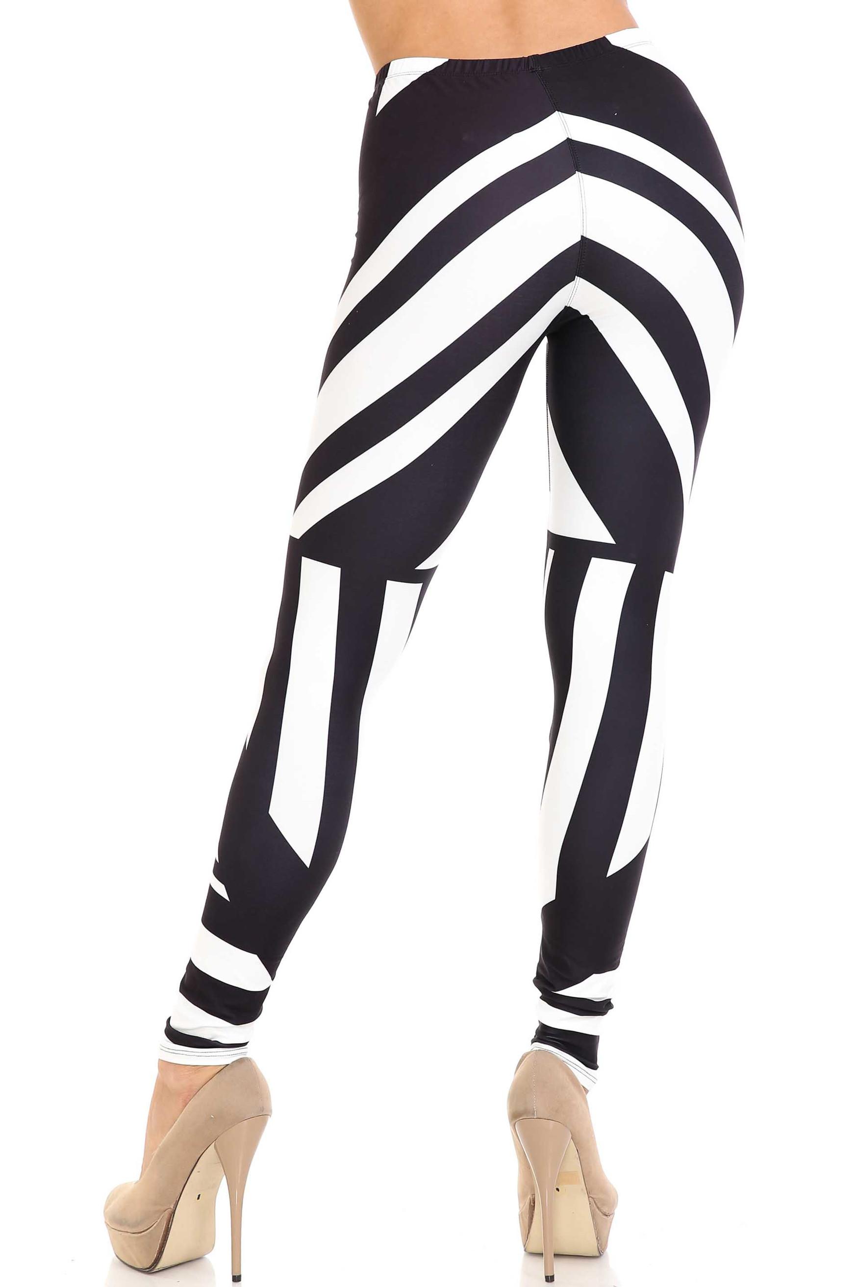 Creamy Soft Body Flatter Lines Extra Plus Size Leggings - 3X-5X - USA Fashion™
