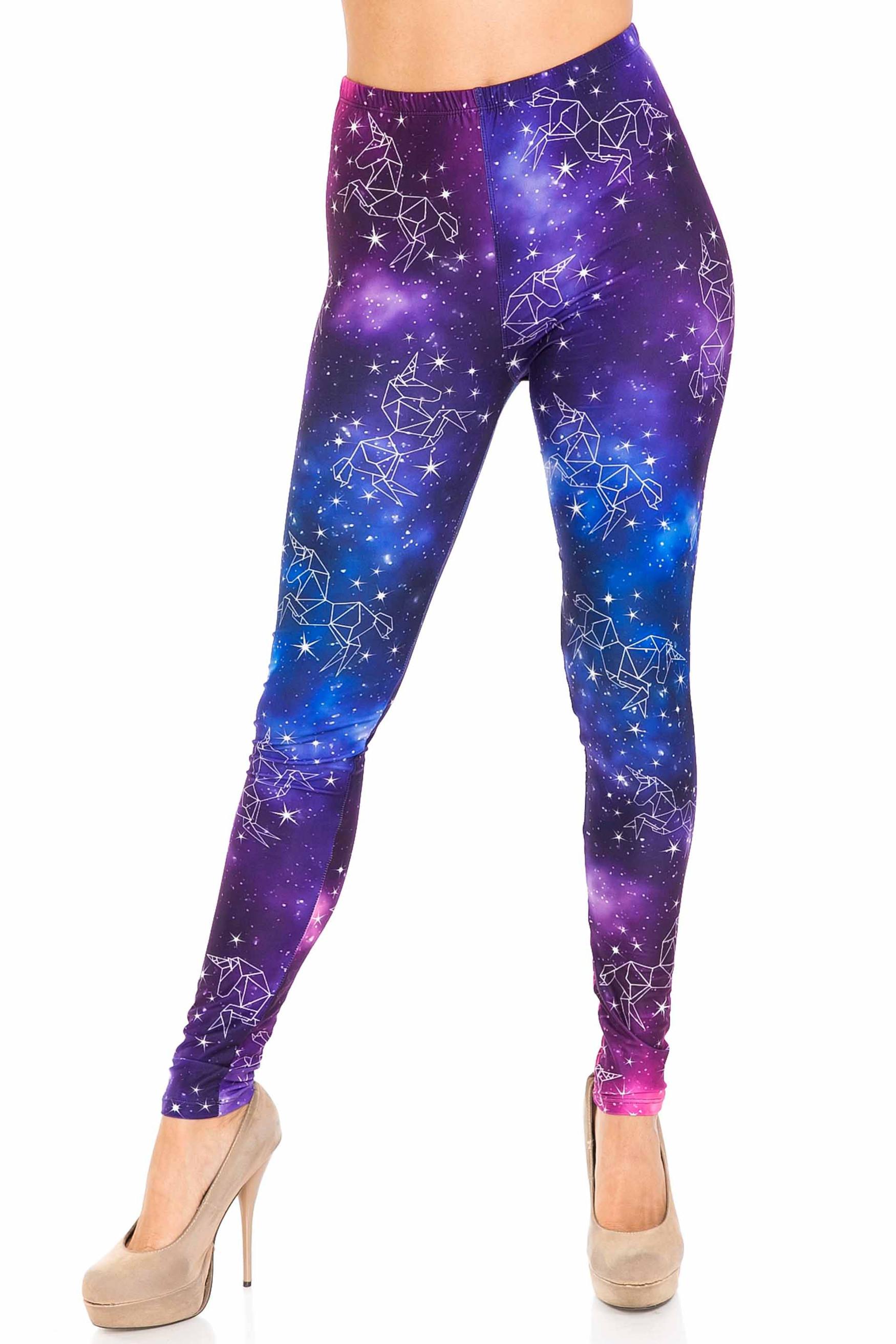 Creamy Soft Unicorn Galaxy Leggings - USA Fashion™