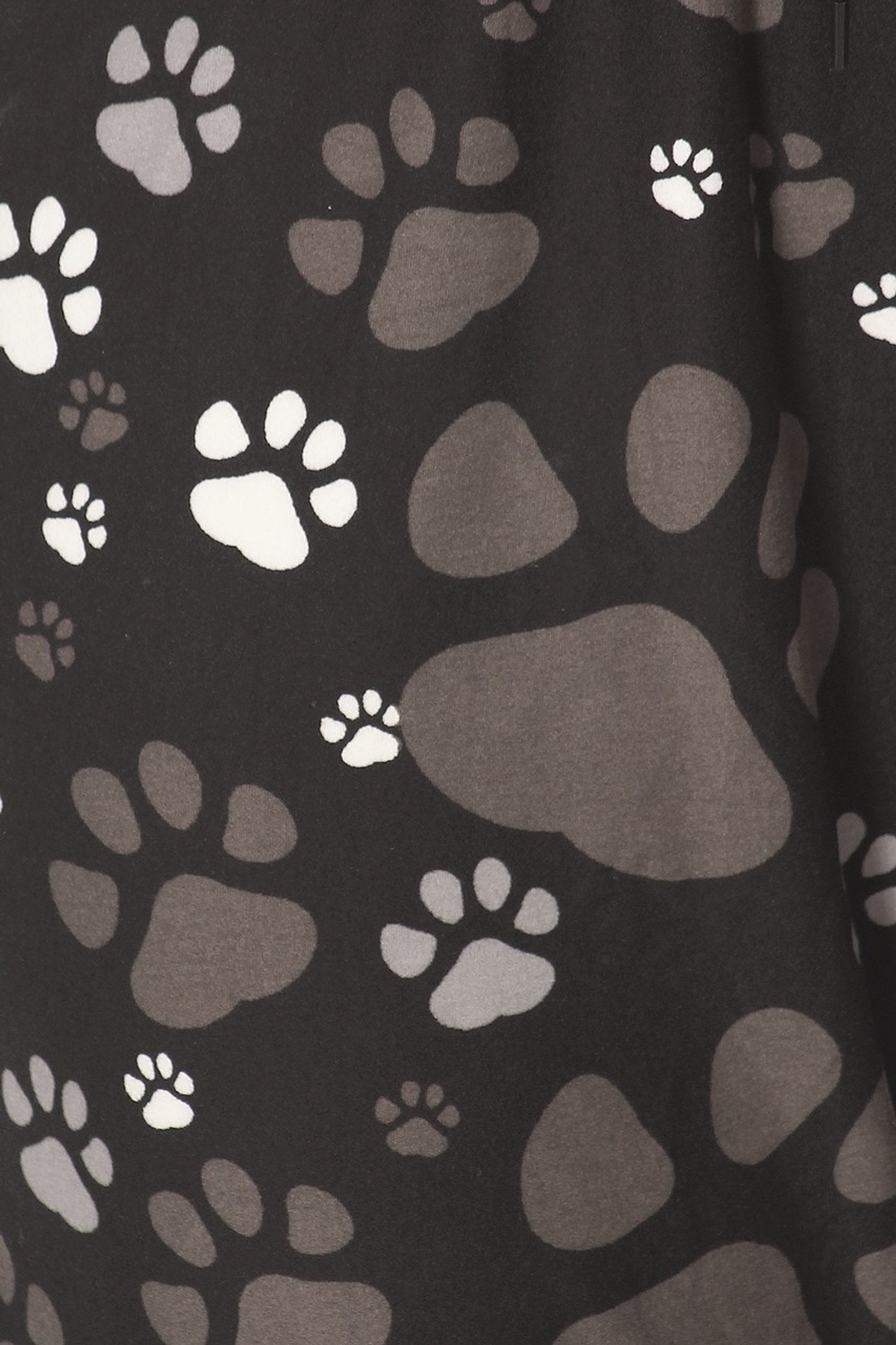 Buttery Soft Muddy Paw Print Joggers