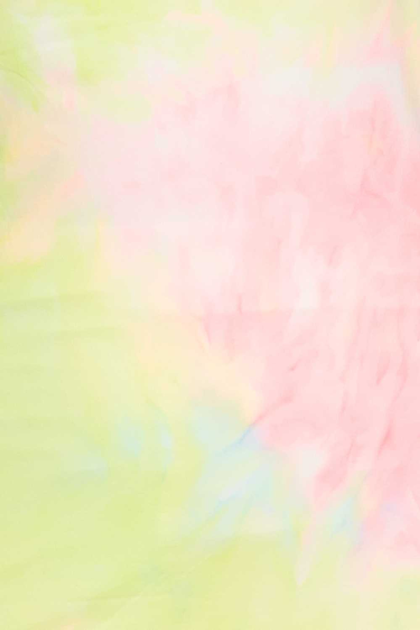 2 Piece Buttery Soft Pink and Yellow Tie Dye Biker Shorts and T-Shirt Set