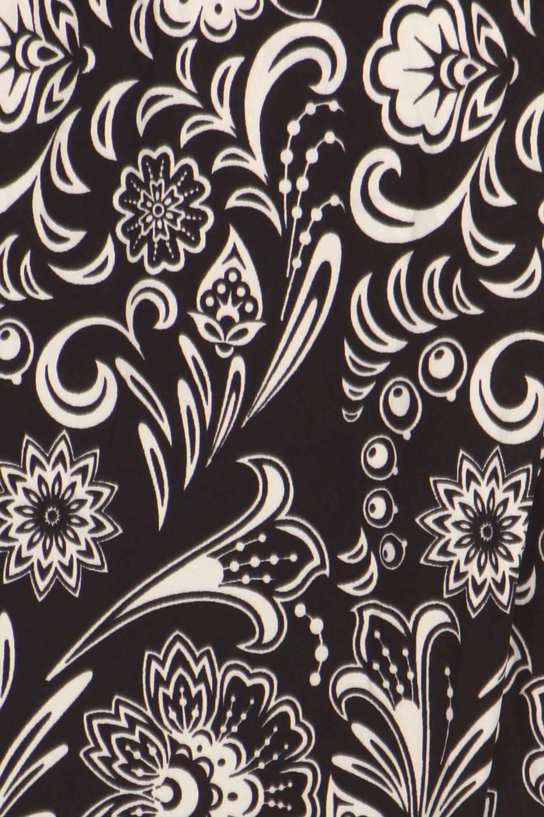 Floral Paisley Harem Leggings