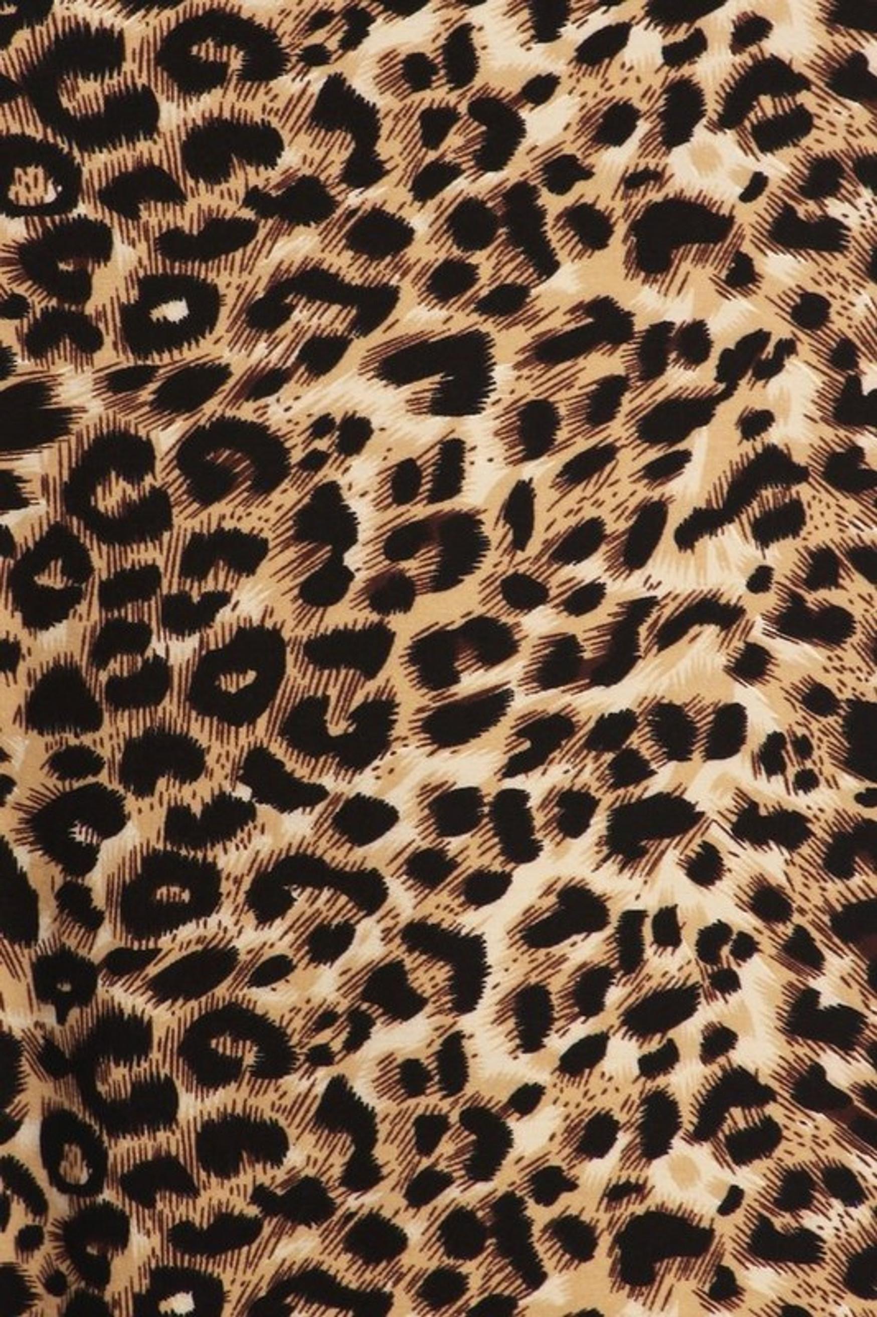 Feral Cheetah Plus Size Buttery Soft Maxi Skirt