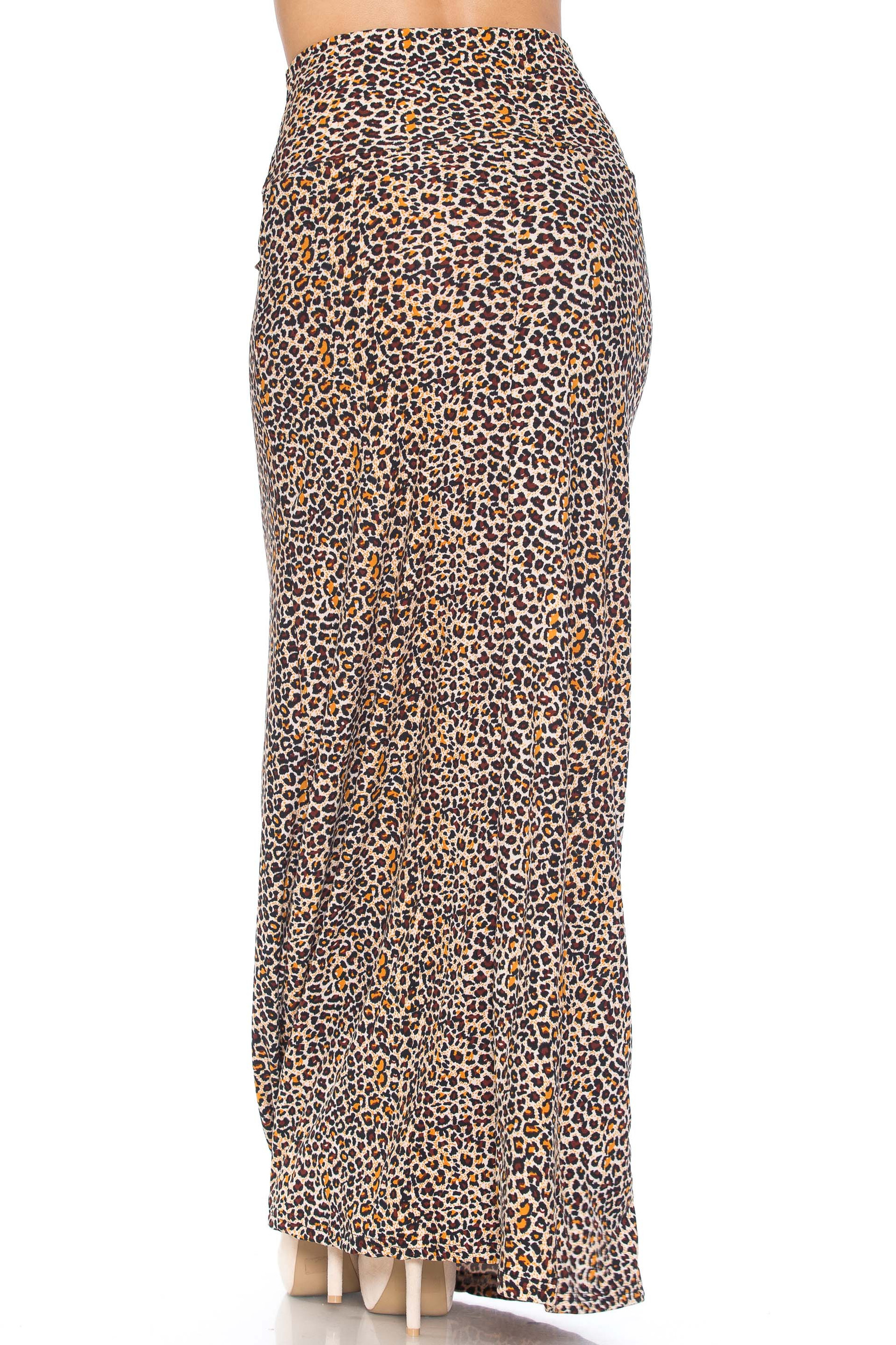 Savage Leopard Buttery Soft Maxi Skirt