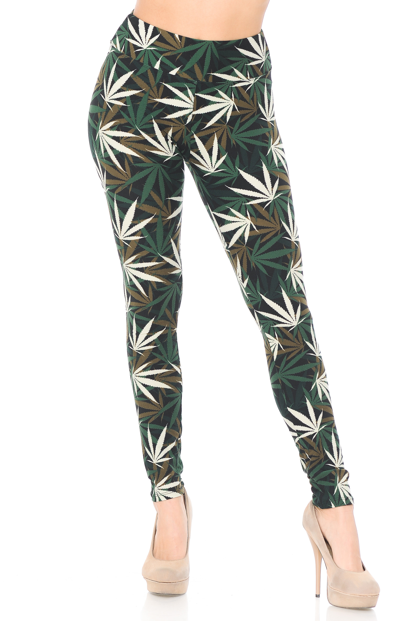 High Waisted Candyland Paisley Buttery Soft Leggings