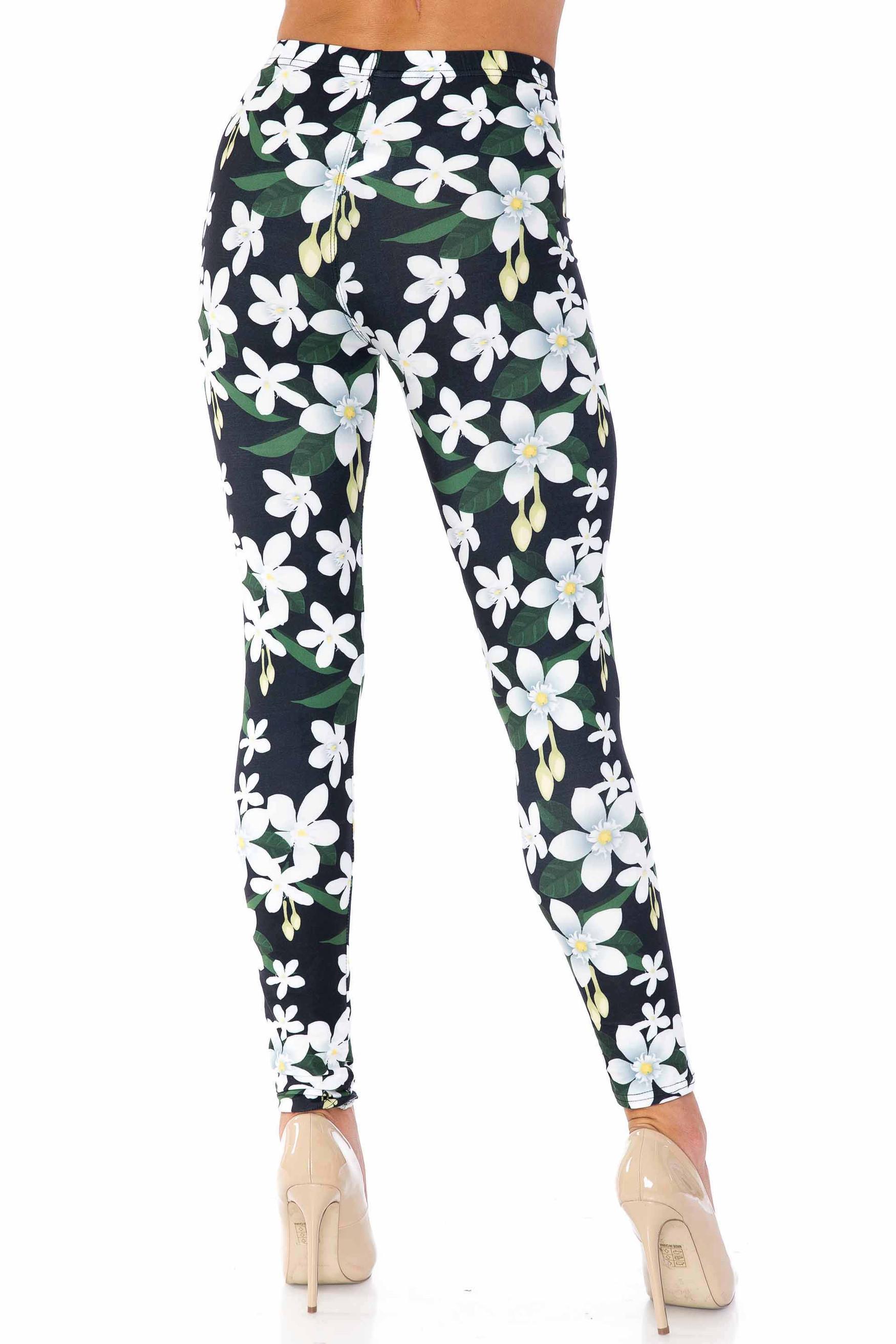 Creamy Soft Daisy Bloom Leggings - USA Fashion™