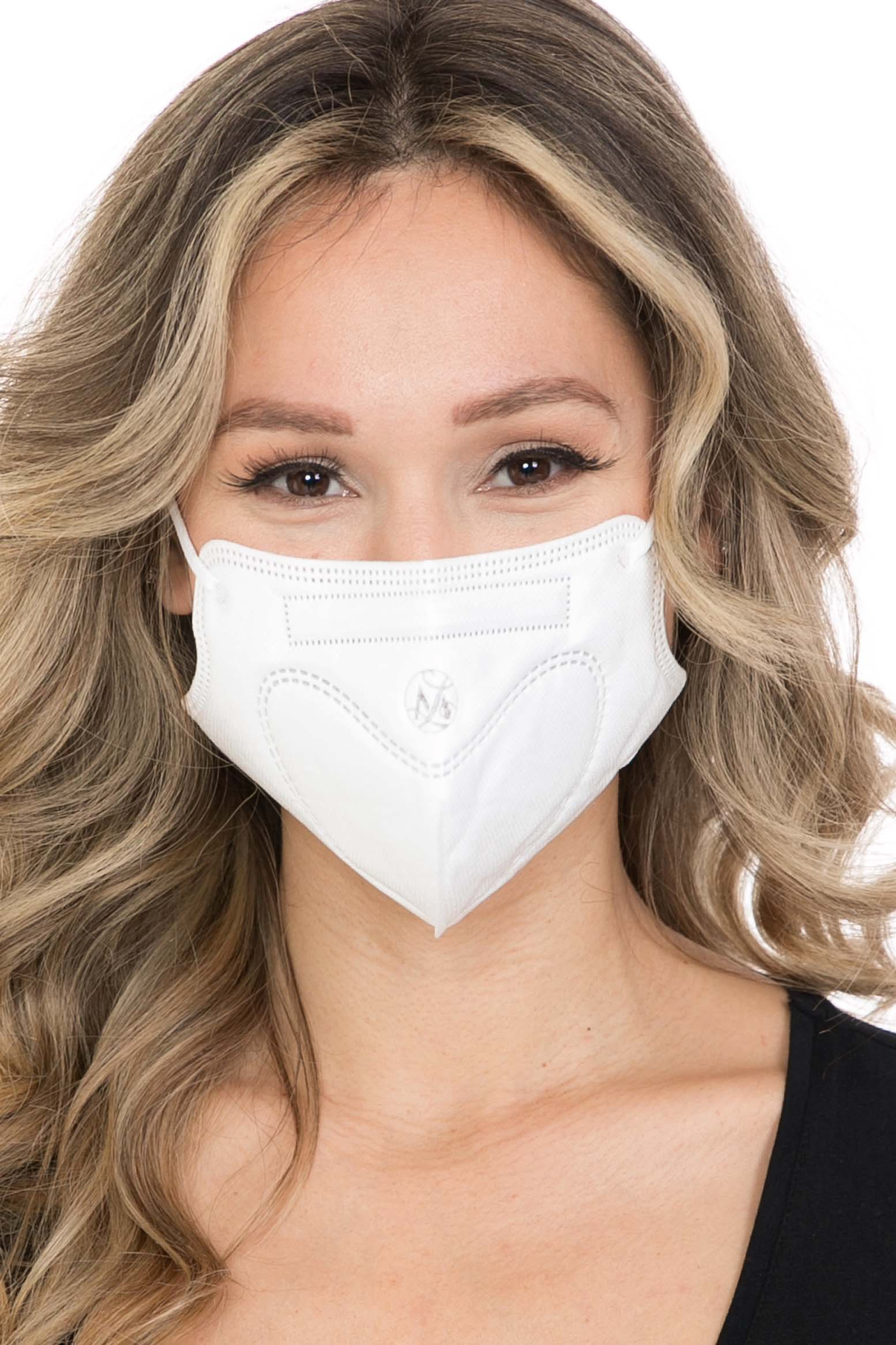 20 Pack - KN95 Face Mask - Comfort Fit - Individually Sealed