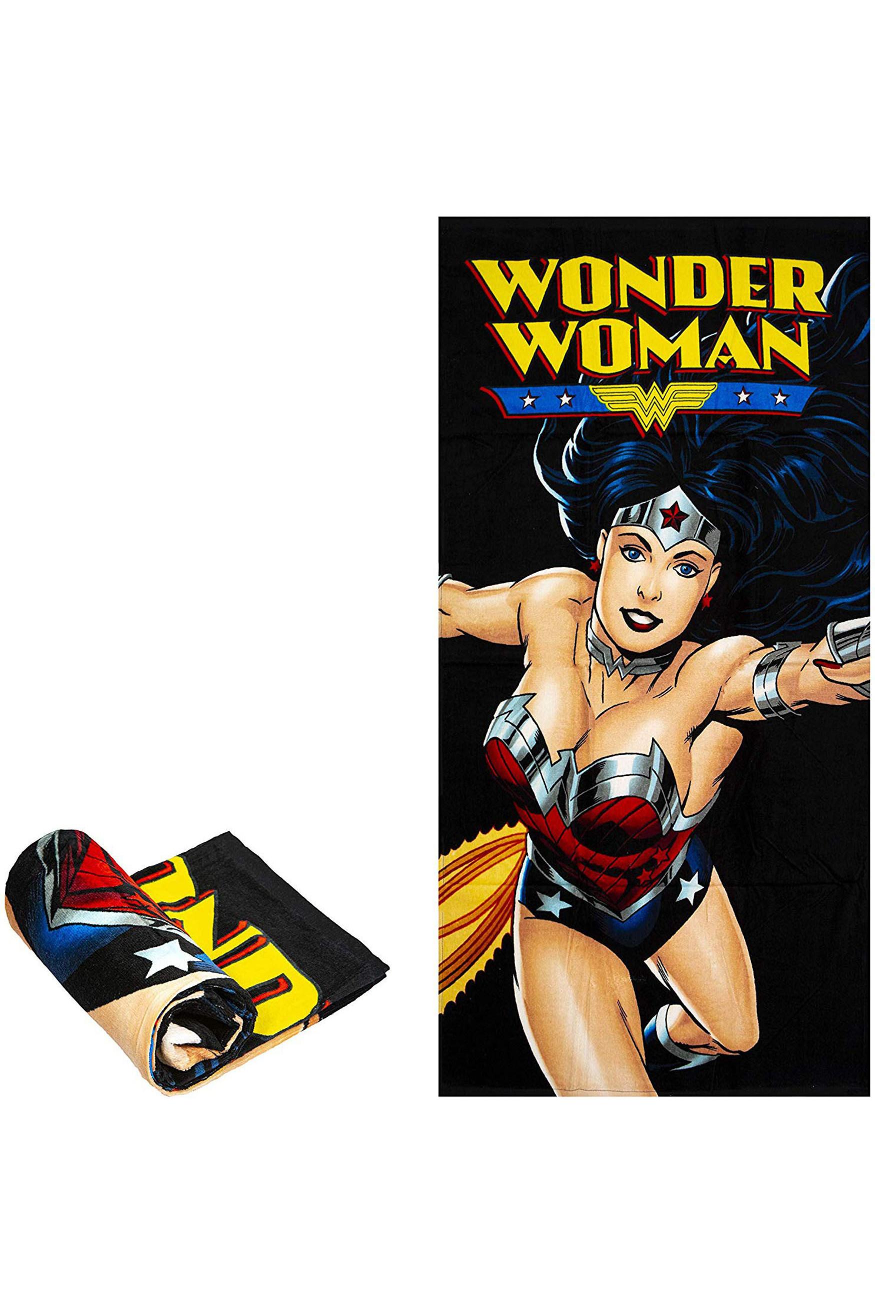 Wonder Woman Oversized Cotton Beach Towel