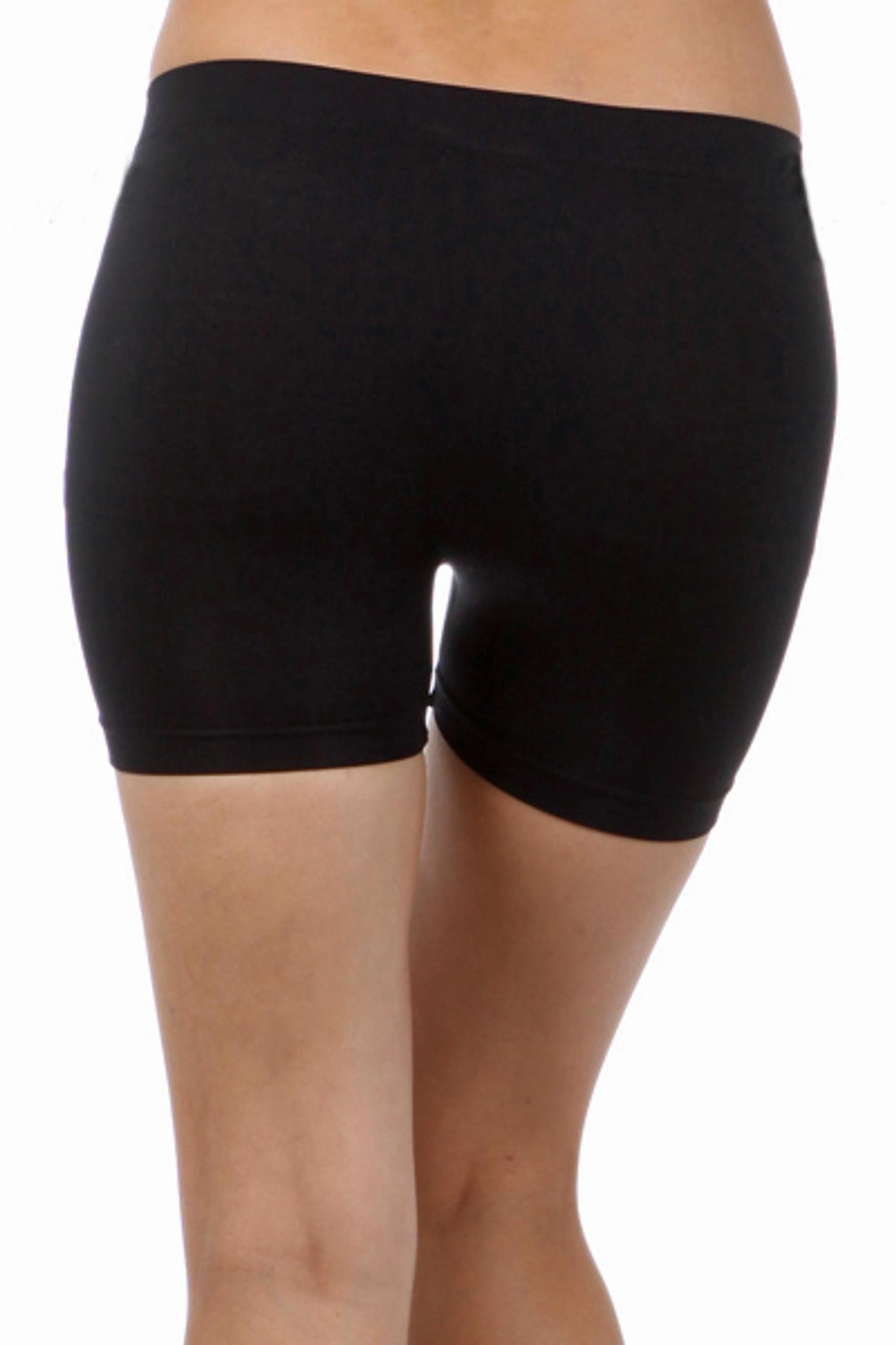 """One Size 4"""" Nylon Boy Shorts"""