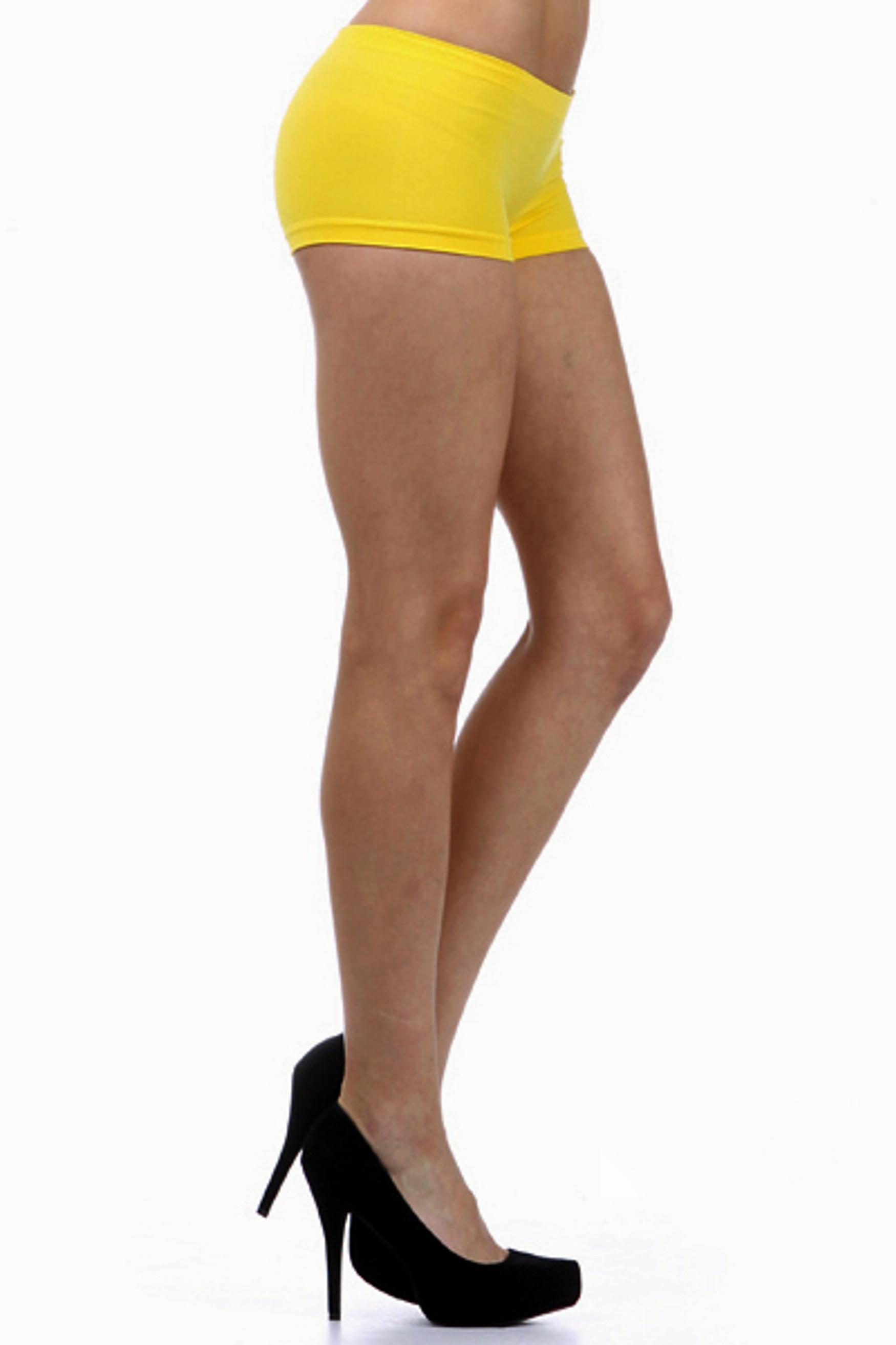 One Size Mini Nylon Boy Shorts