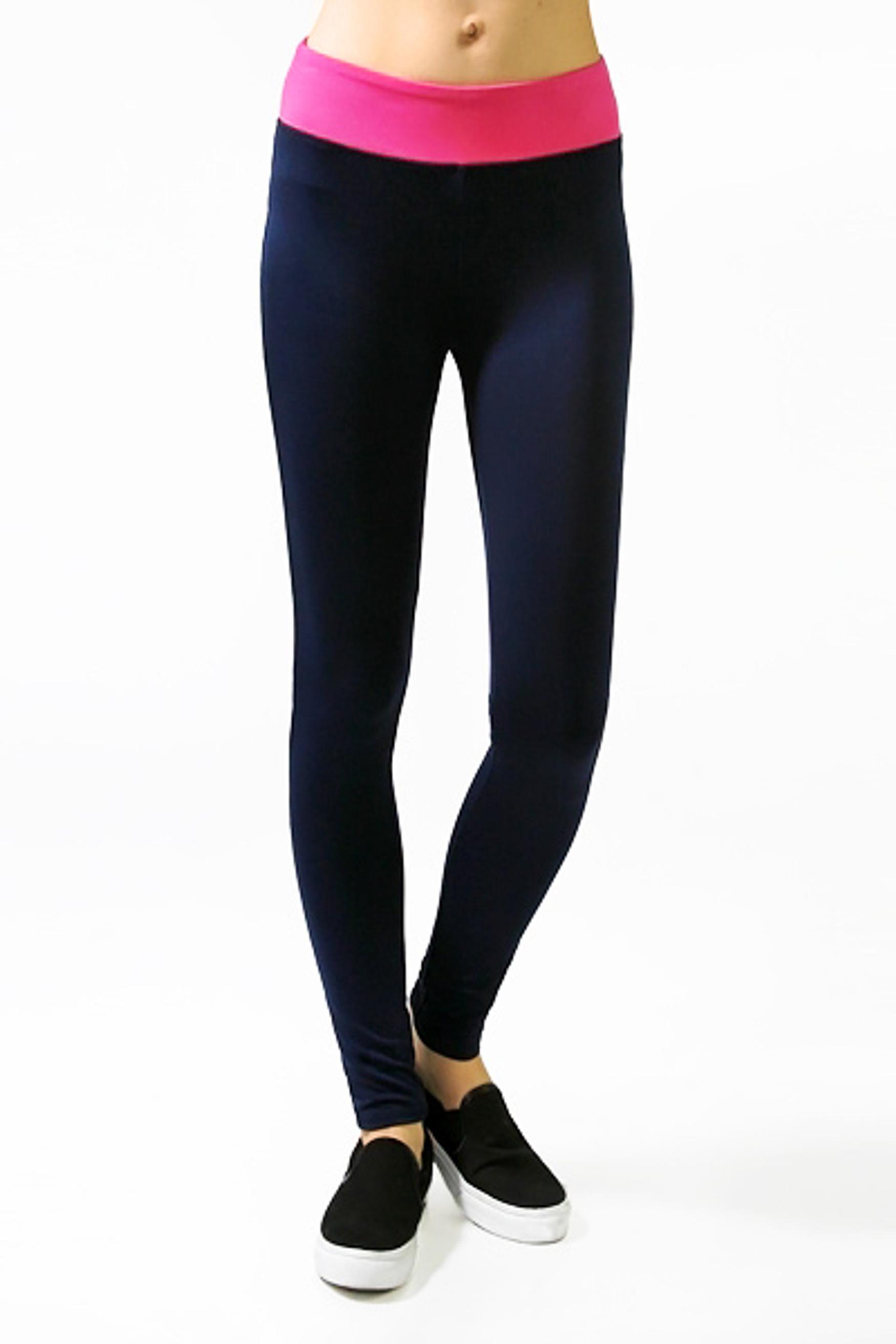 Color Block Fitness Leggings