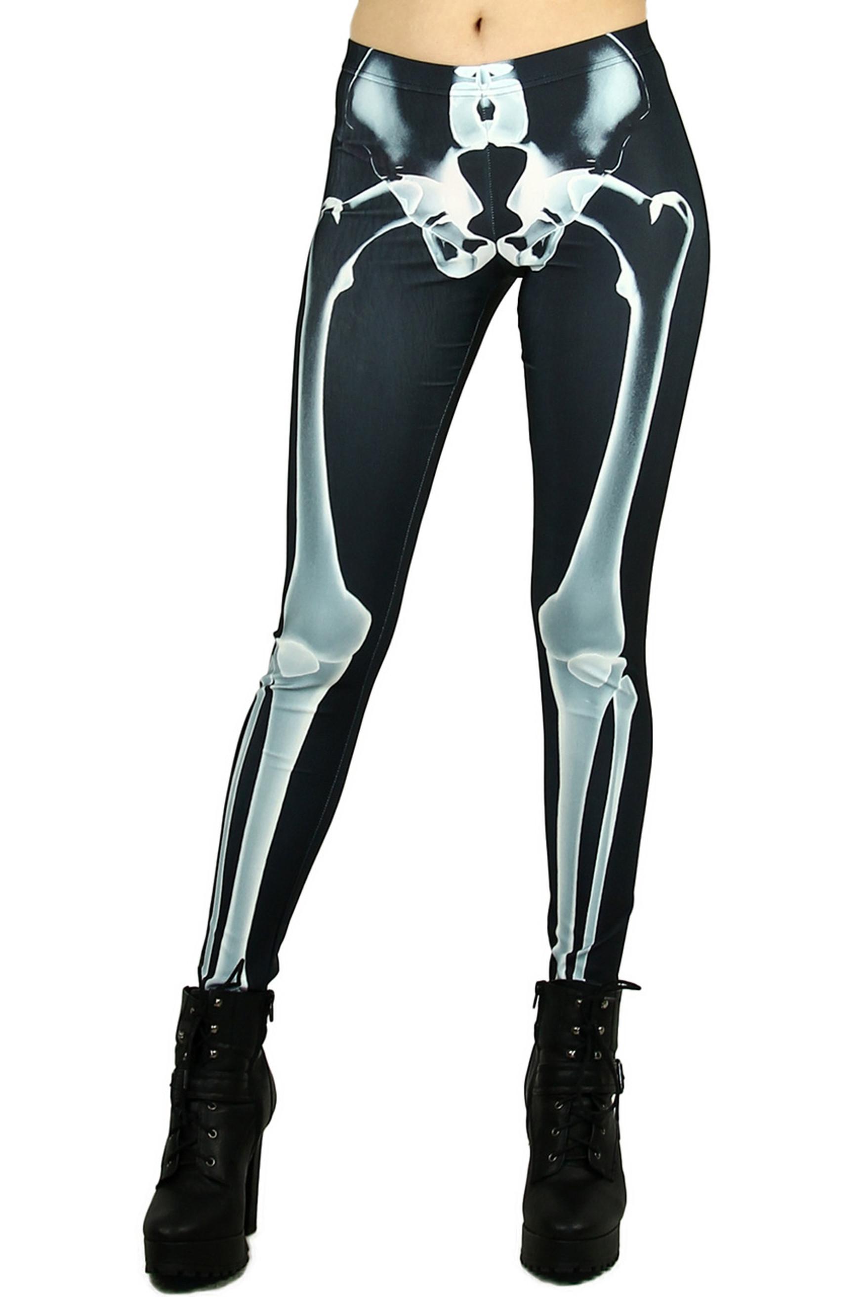 X-Ray Skeleton Leggings