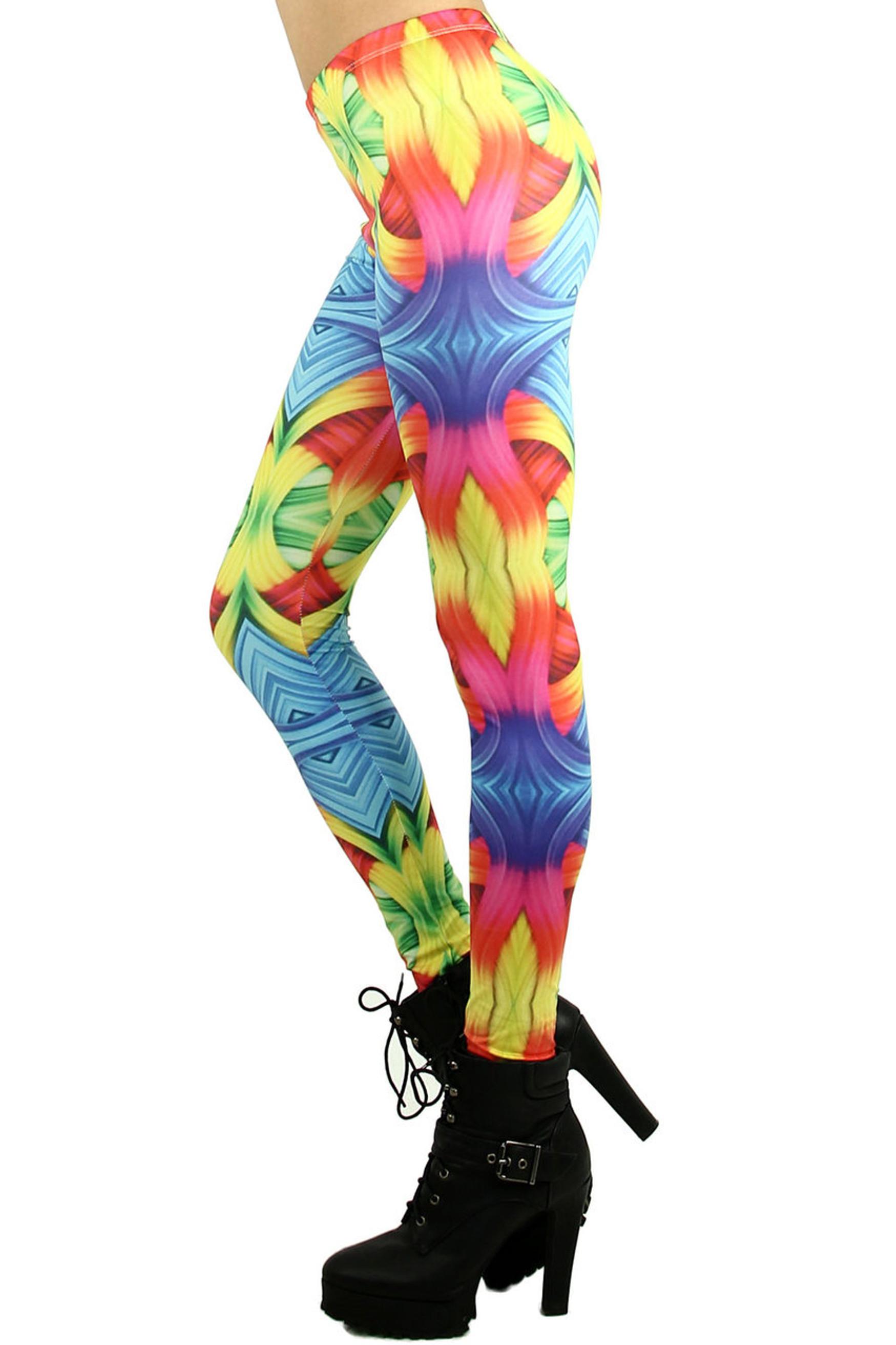 Rainbow Trance Leggings