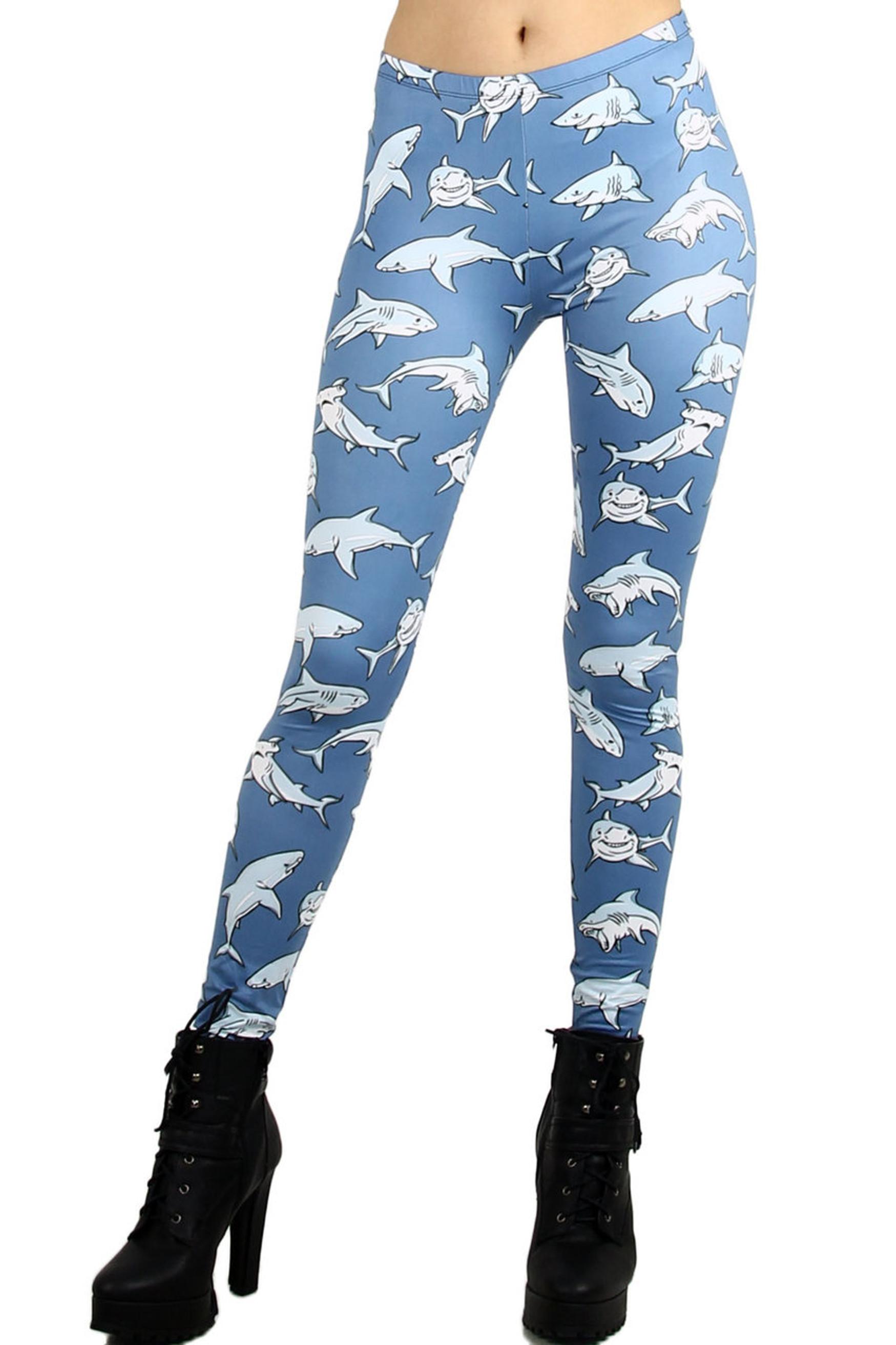 Swimming Sharks Leggings