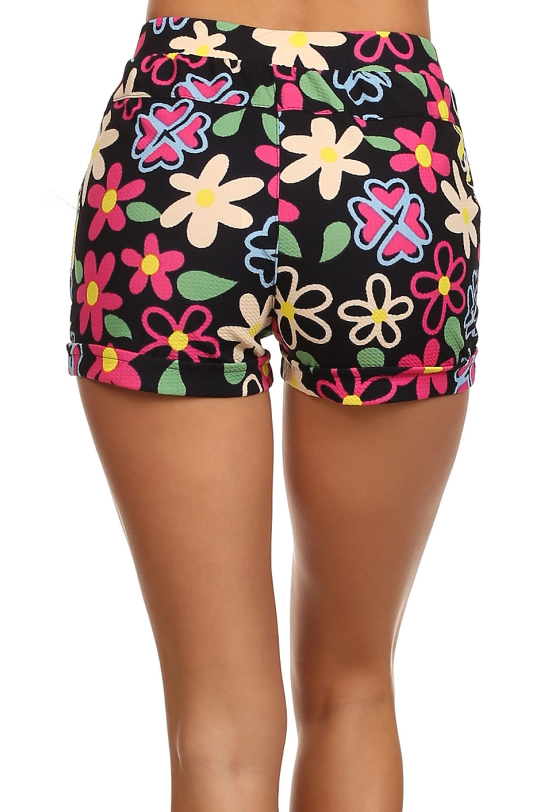 Floral Pop Summer Shorts