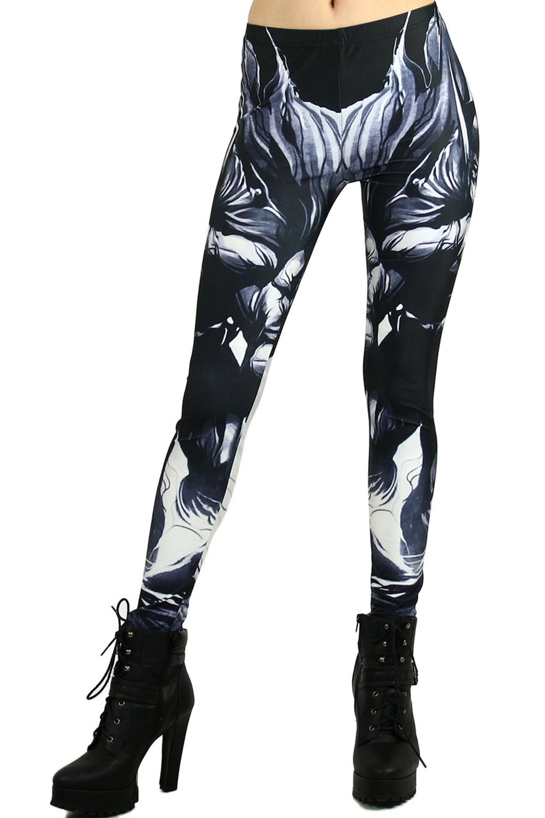 Black Gotham Leggings - Plus Size