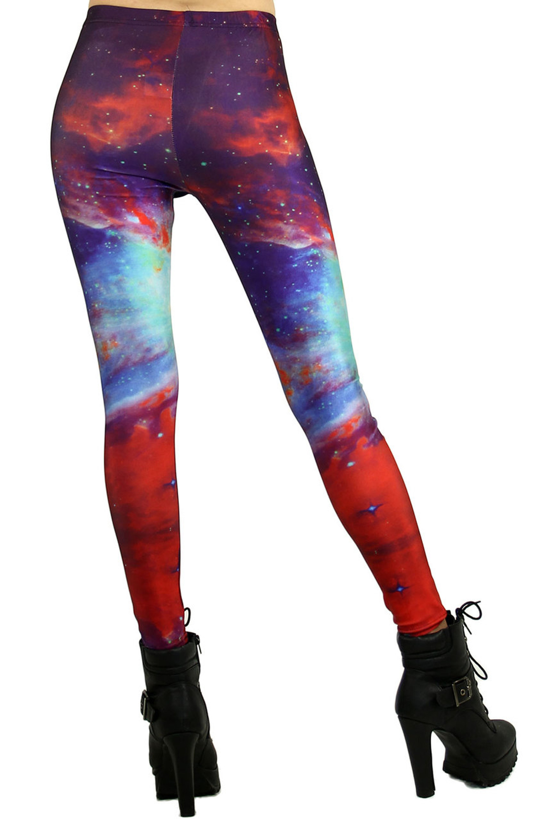 Radioactive Galaxy Leggings