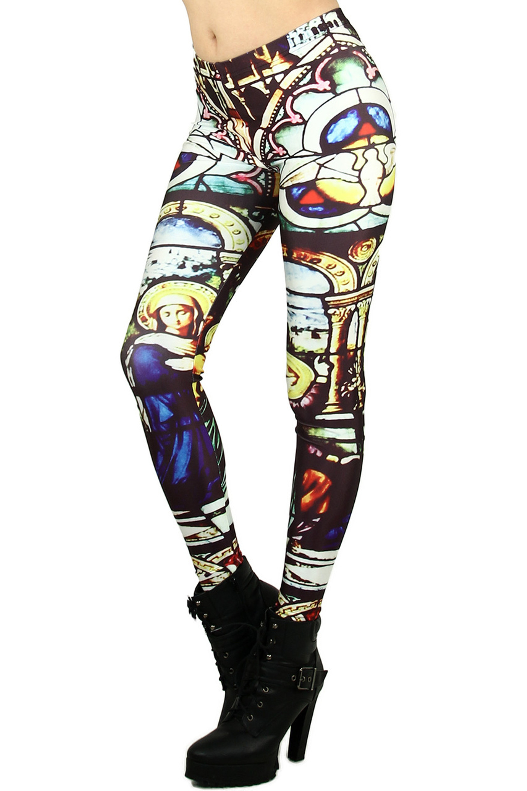Mosaic Glass Leggings