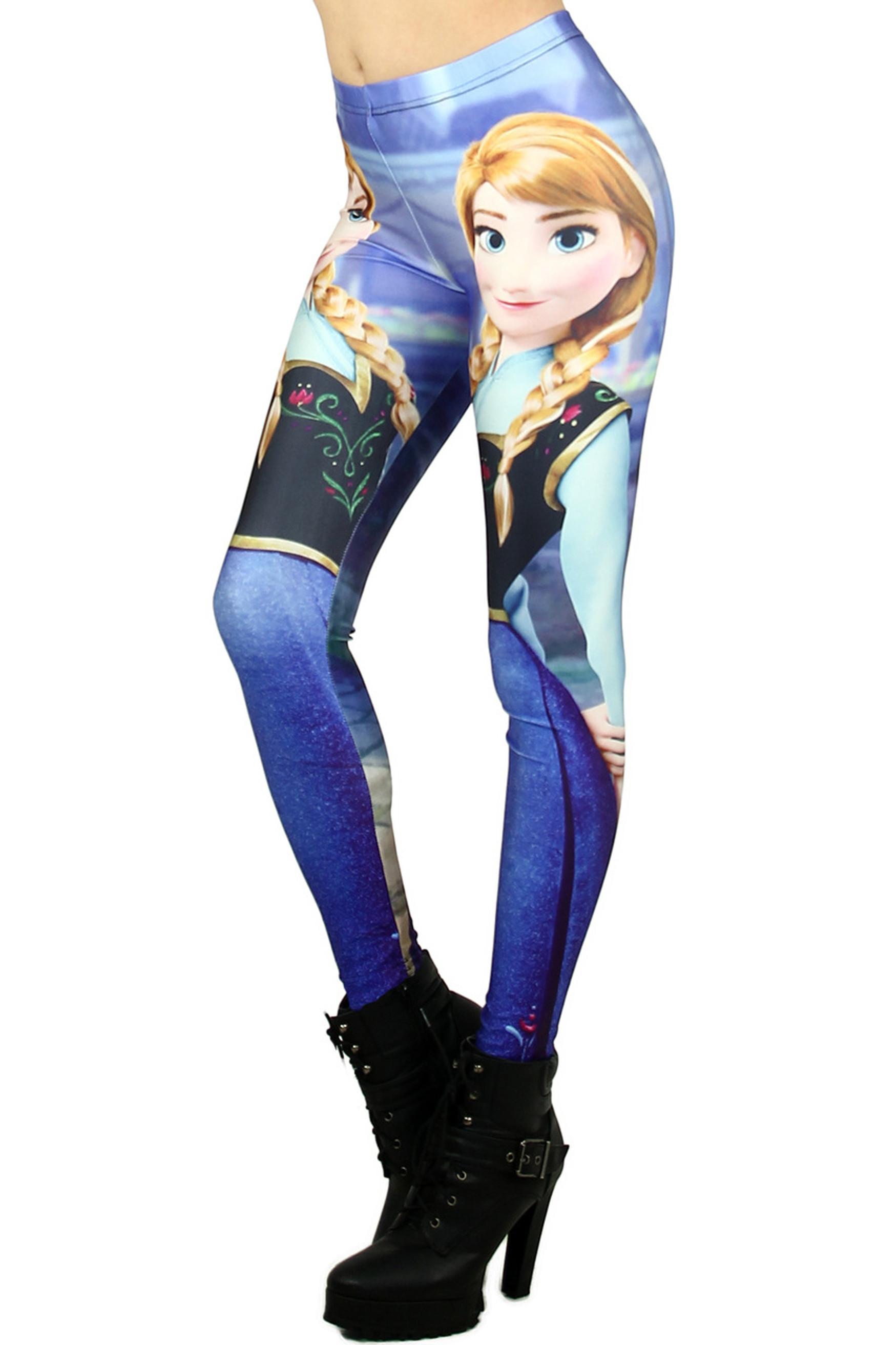 Princess Anna Leggings - Plus Size