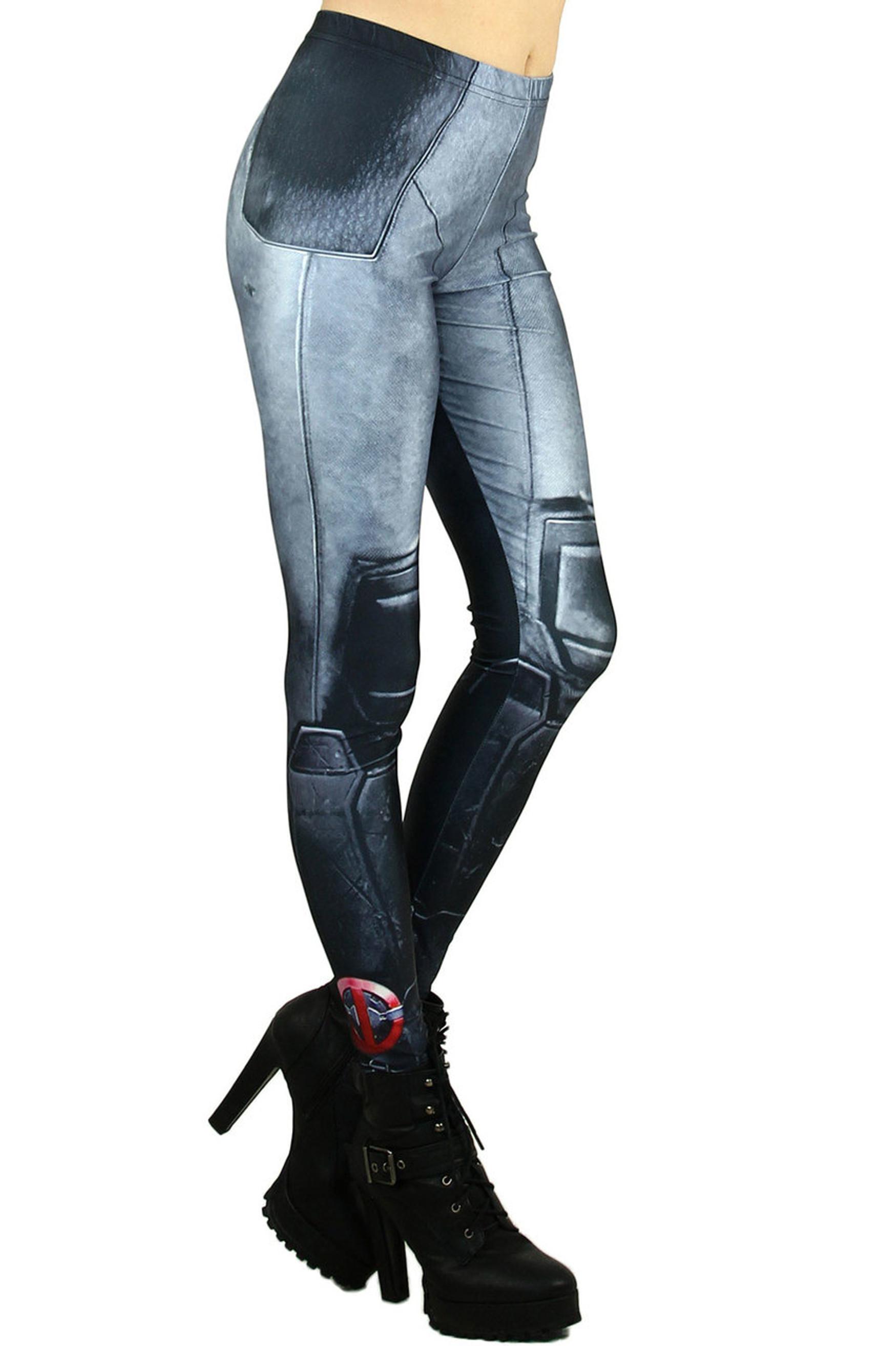 Sexy Leg Armor Leggings