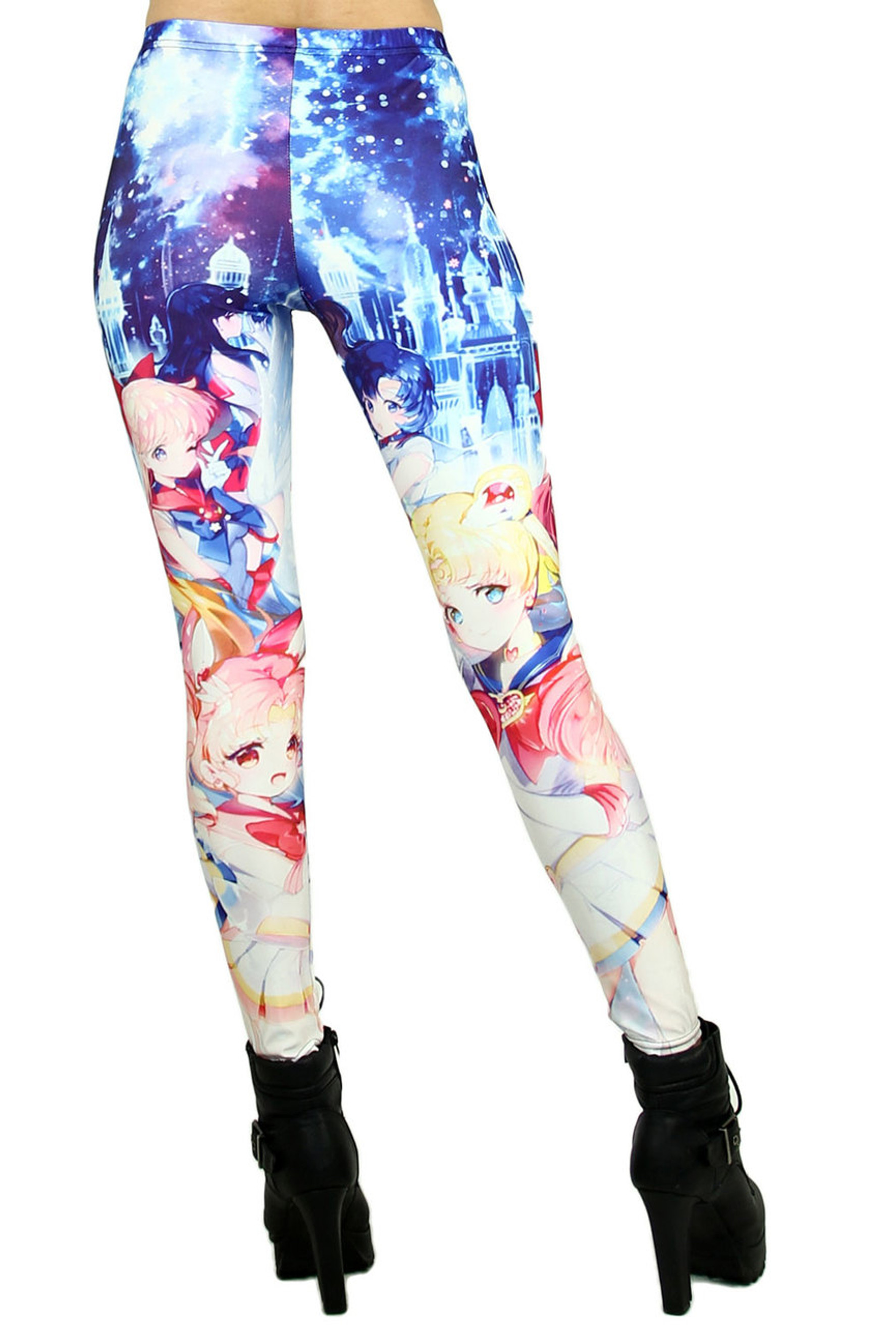 Sailor Moon and Friends Leggings
