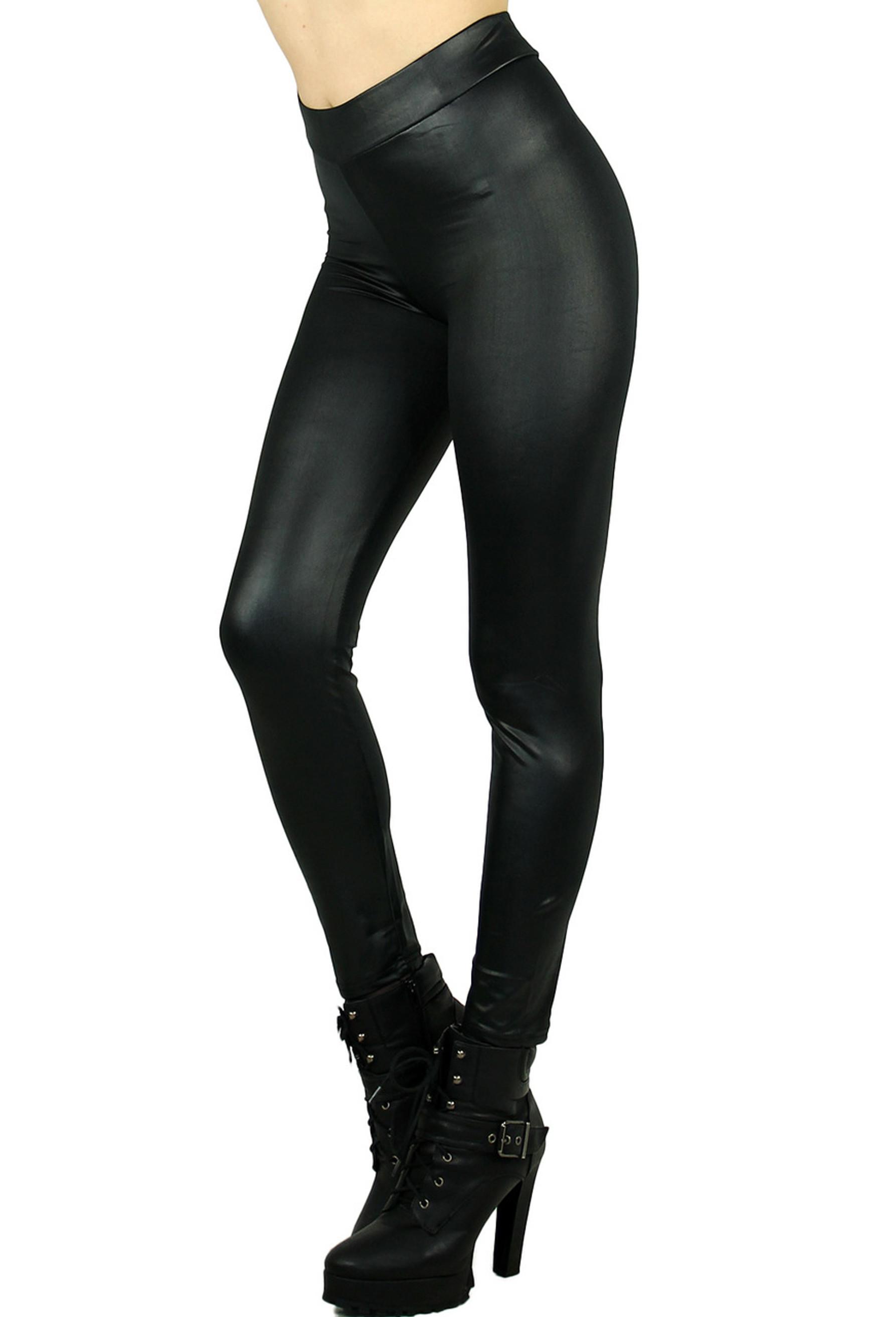 Black Select Matte Liquid Cotton Leggings