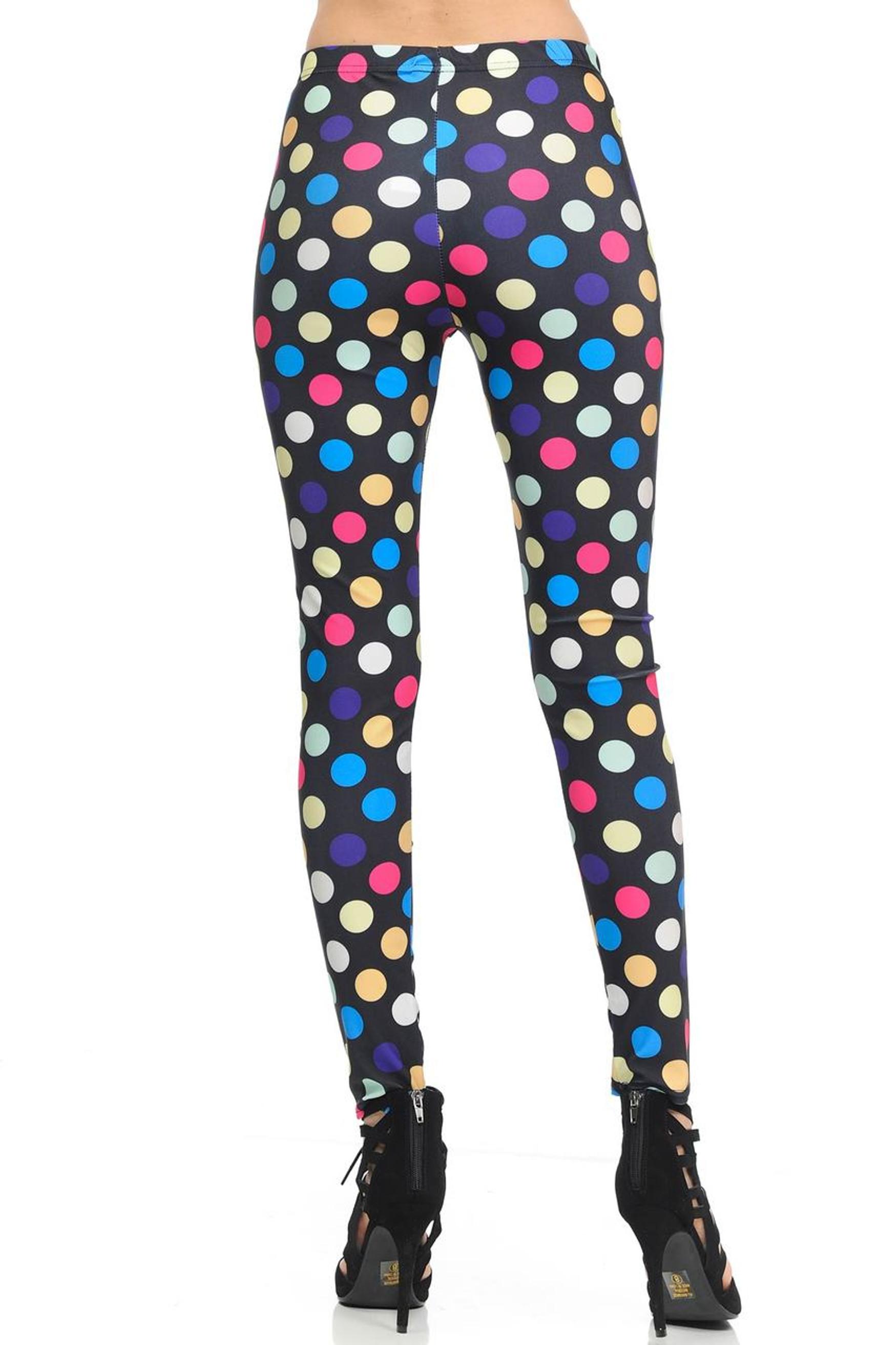 Colorful Jumbo Polka Dot Leggings