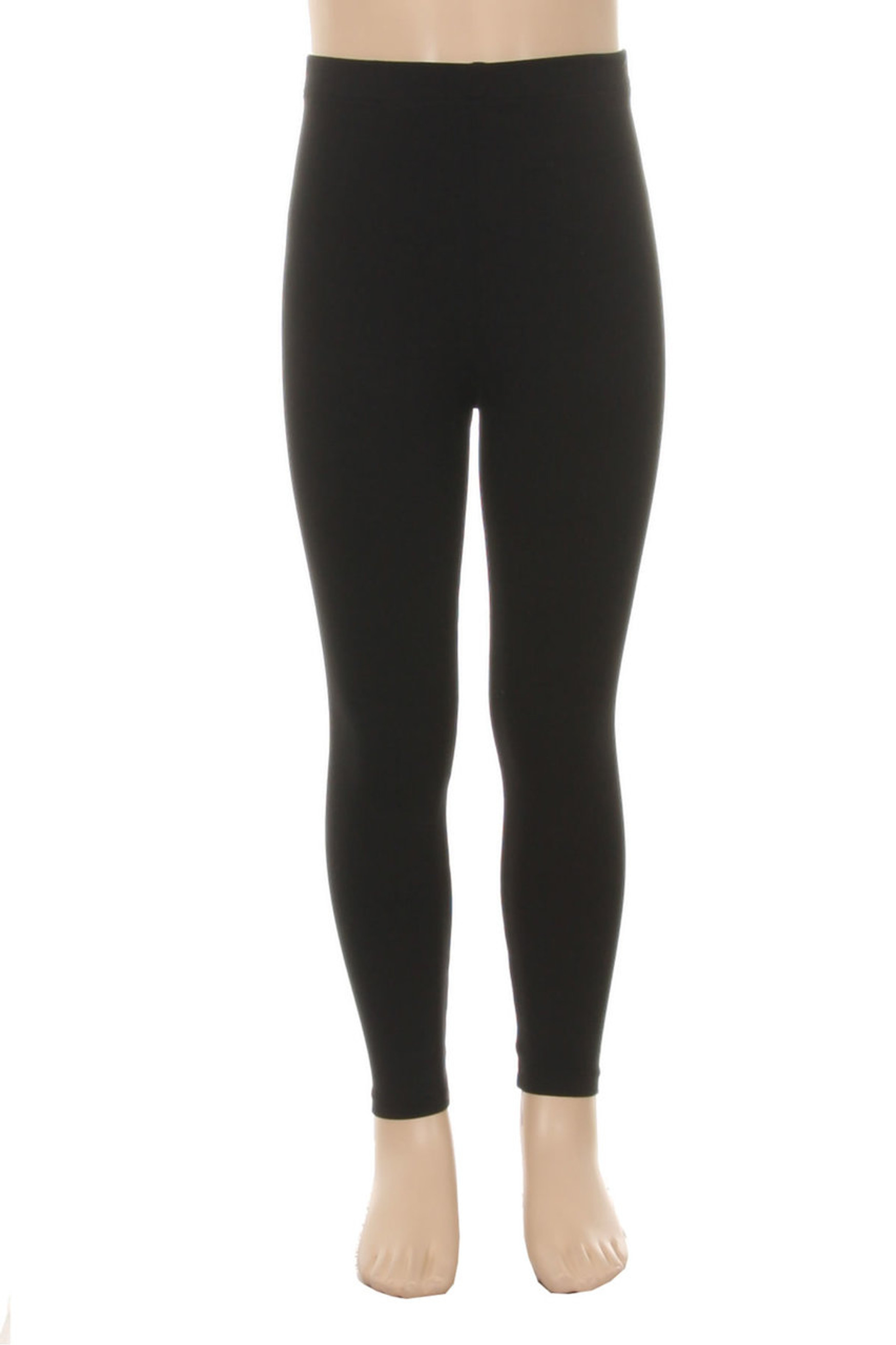 Wholesale Buttery Soft Solid Kids Basic Leggings
