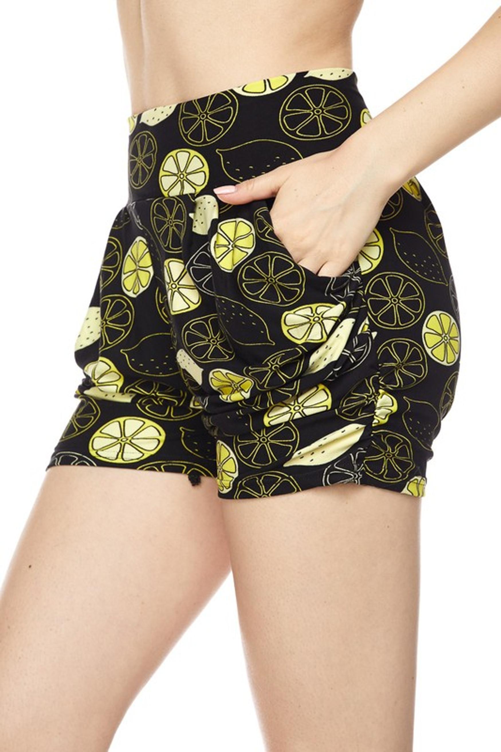 Lemon Harem Shorts