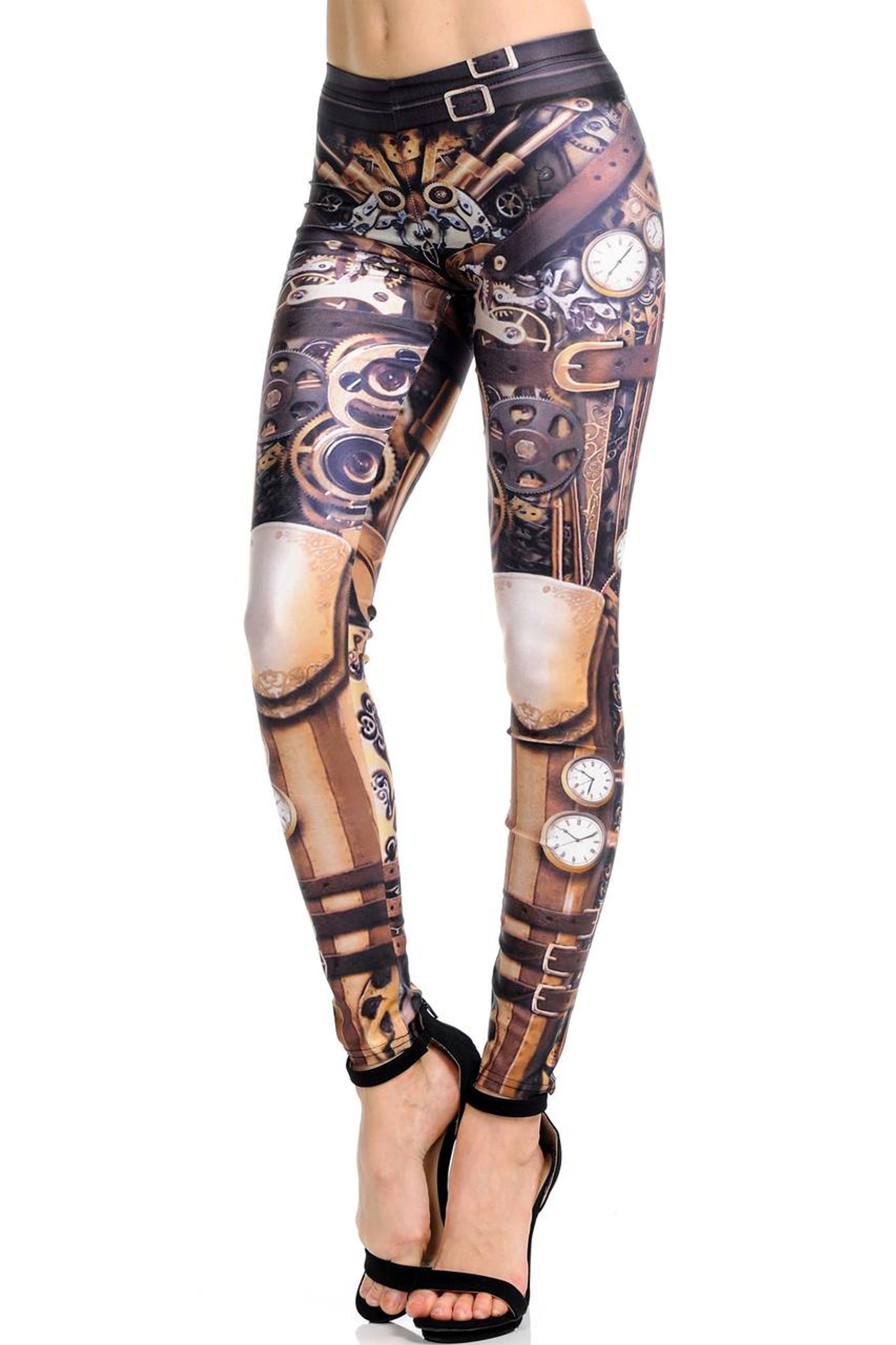Classic Steampunk Leggings