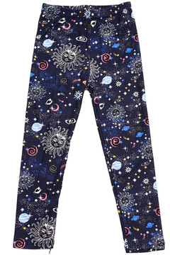 Brushed Celestial Heavens Kids Leggings