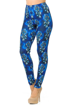Creamy Soft Azure Dream Catcher Leggings