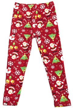 Brushed Christmas Delight Kids Leggings