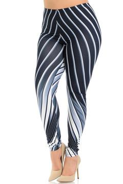 Creamy Soft Contour Body Lines Plus Size Leggings - Signature Collection