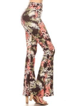 Brushed Twilight Tie Dye Bell Bottoms