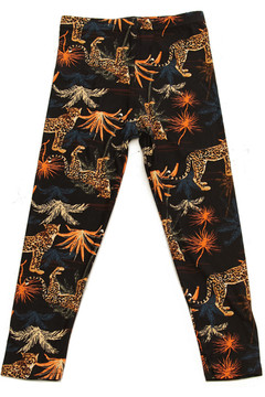 Brushed Bold Cheetah Kids Leggings