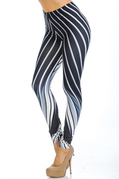 Creamy Soft Contour Body Lines Extra Small Leggings - USA Fashion™