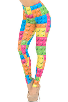 Creamy Soft Lego Leggings - USA Fashion™