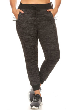 Fur Lined Winter Plus Size Joggers