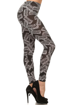 Mature Content Advisory Leggings