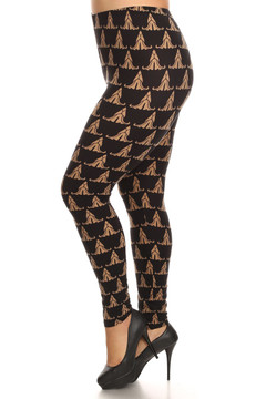 Bronze Iconic Leggings - Plus Size