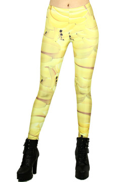 Go Bananas Leggings - Plus Size