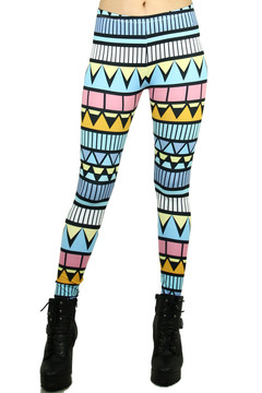 Summer Tribe Leggings