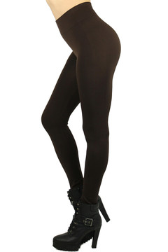 Basic Full Length Spandex Leggings - Plus Size