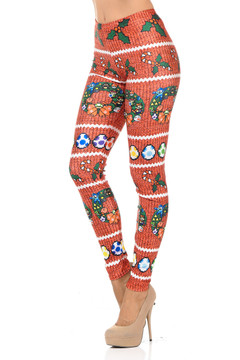 Nintendo Peeps and Candy Cane Leggings