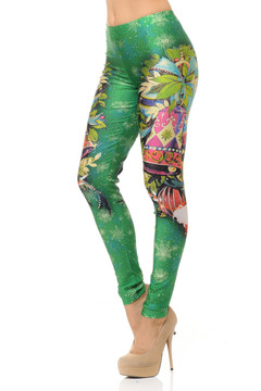 Festive Christmas Bell Leggings