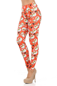 Holiday Snowman Leggings