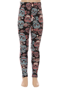 Sugar Skull Kid's Leggings